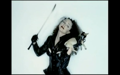 "Madonna is also ahead of the loldogs trend in ""Human Nature"""