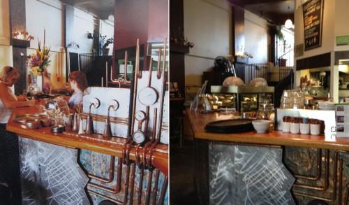 Left - 2000, steampunk; right - 2013, paninipunk