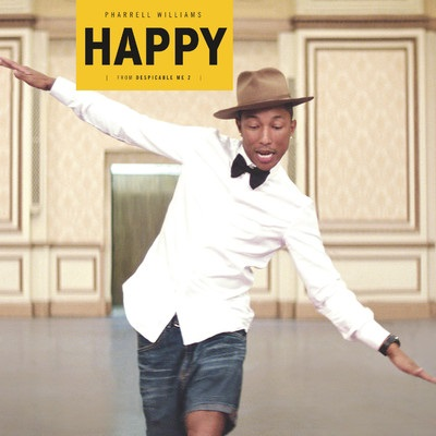 Pharrell Williams in Happier times.